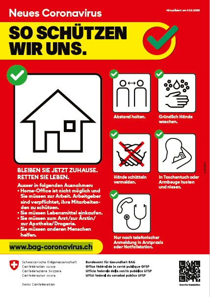 aktuellen Regeln neues Coronavirus